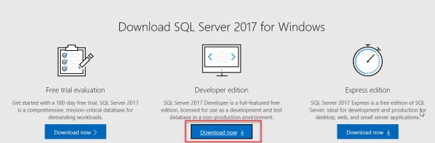 sql management studio 2017 free download