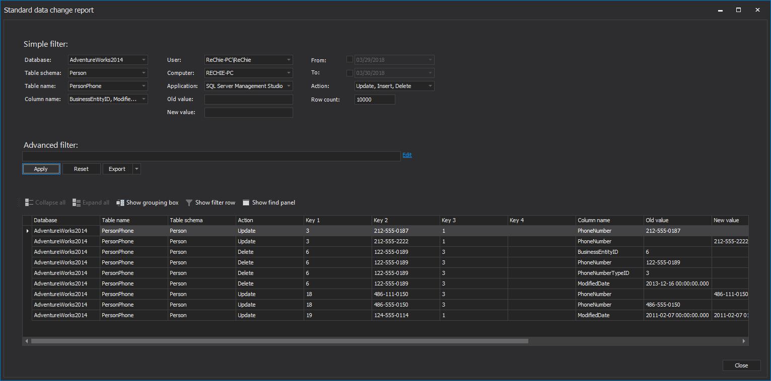 Various Techniques To Audit Sql Server Databases