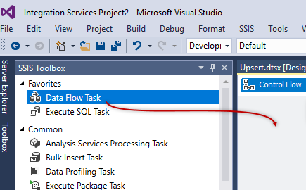 Creating a new SSIS Project