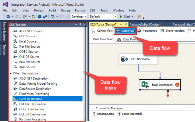 SSIS interview questions: Data flow tasks in SSIS