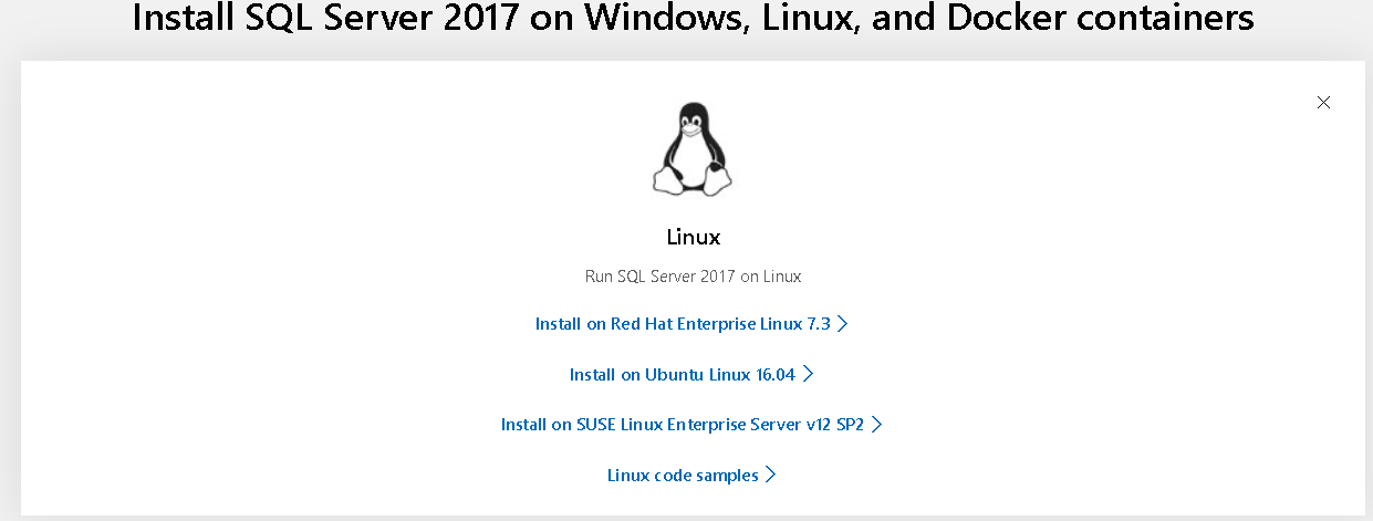 Installation of SQL Server Linux on Red Hat in Amazon EC2 instances