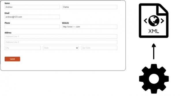 Form to XML
