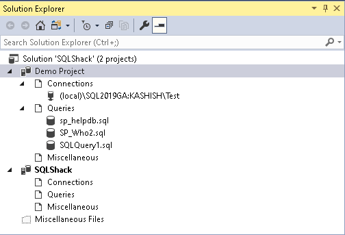 open existing file