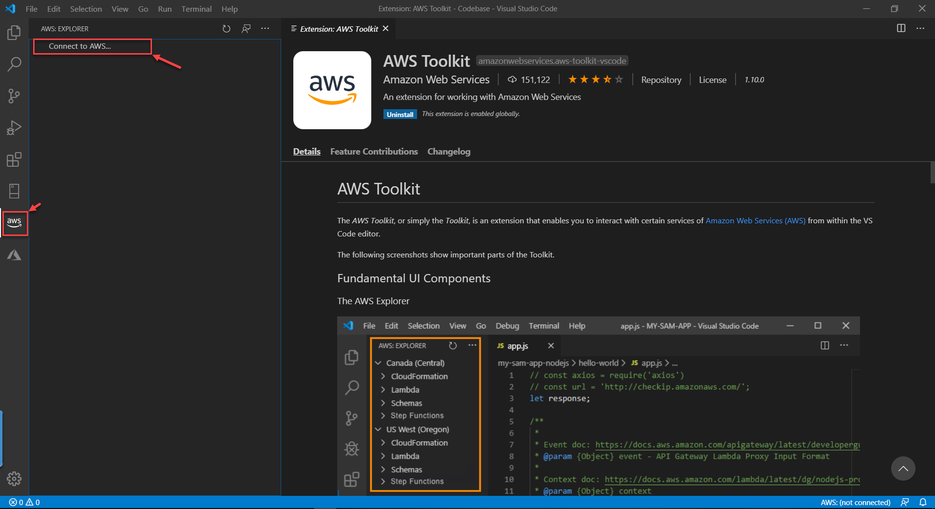 Getting Started With Aws Toolkit For Visual Studio Code
