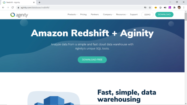 Aginity Pro for Redshift
