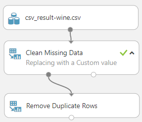 Remove Duplicate Rows for Data Cleaning in Azure Machine learning.