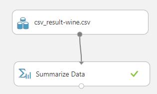 Summarize data control in Azure Machine Learning.
