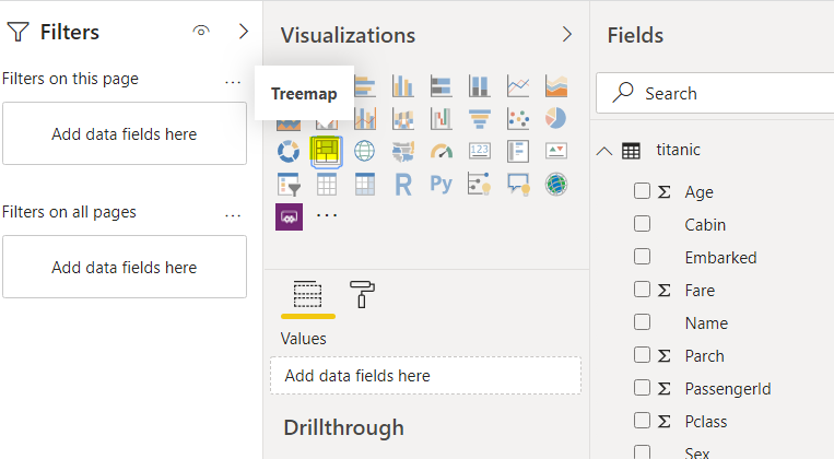 Power BI Visuals: Working with Treemaps and Tables