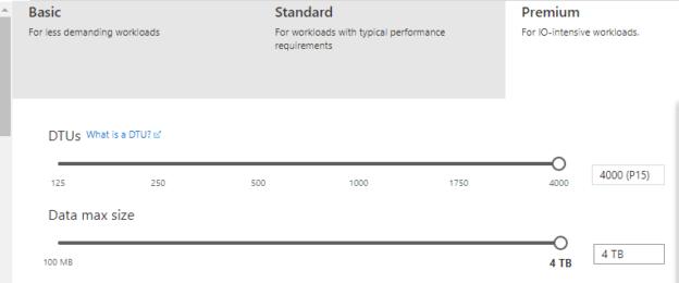 Premium performance model