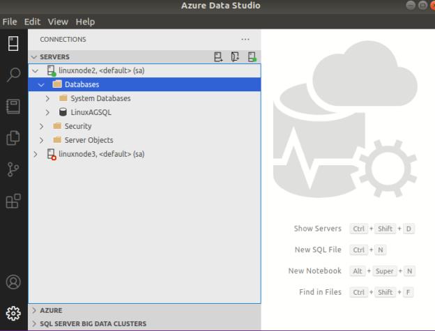 user database [LinuxAGSQL]