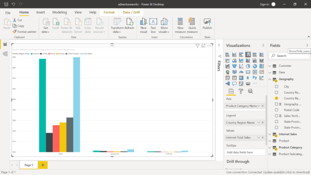 Report in Power BI
