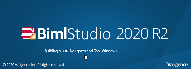 BimlStudio splash screen