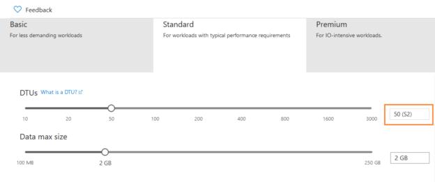 Modify DB Service tier